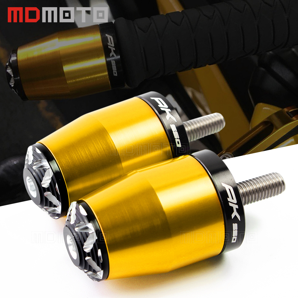 For KYMCO AK550 2017 Motorcycle accessories parts Street Bike Handlebar Grips Bar End Plugs fit for KYMCO AK 550 handle grip BarFor KYMCO AK550 2017 Motorcycle accessories parts Street Bike Handlebar Grips Bar End Plugs fit for KYMCO AK 550 handle grip Bar