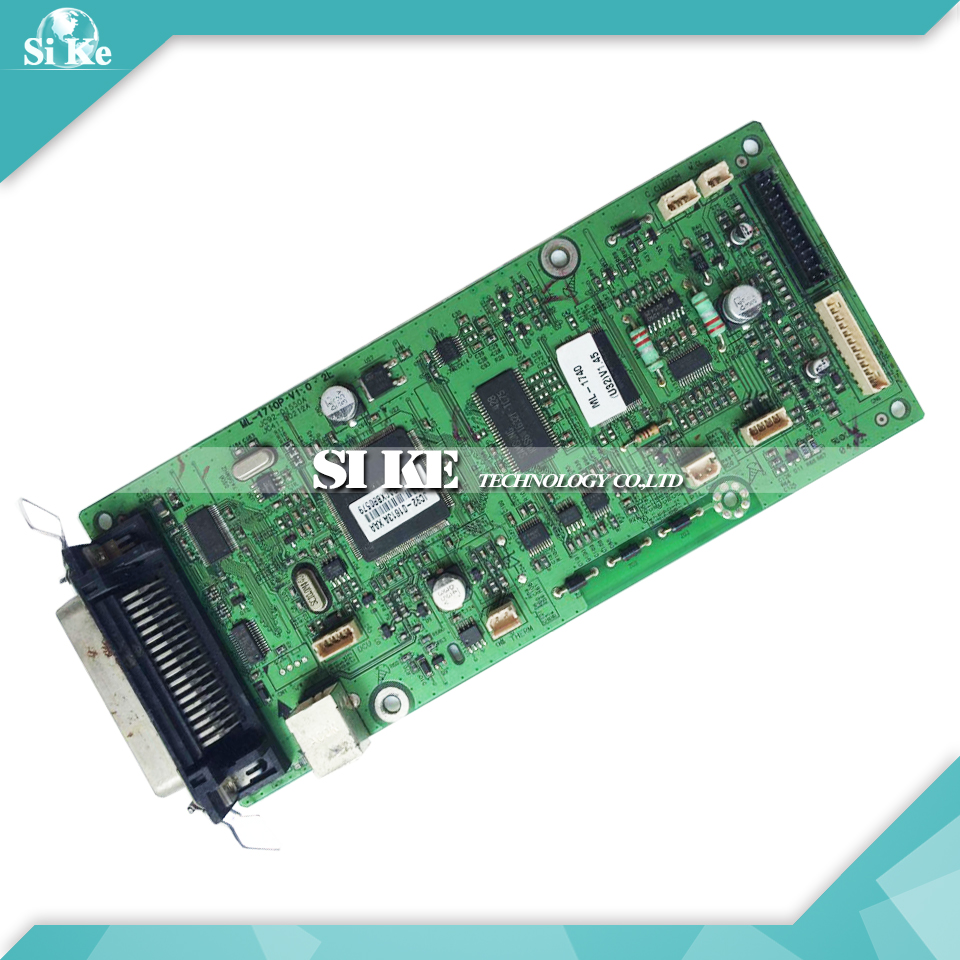 Laser Printer Main Board For Samsung ML-1740 ML-1750 ML1740 ML1750 ML 1740 1750 Formatter Board Mainboard Logic Board printer power supply board for samsung ml 1510 ml 1710 ml 1740 ml 1750 ml 1510 1710 1750 power board free shipping on sale