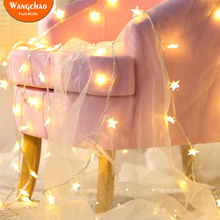 1.5M Romantic LED Star String Lights Fairy Happy Birthday Party Decoration Wedding Battery Operate Twinkle