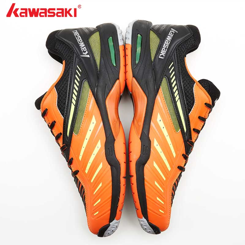 2019New Kawasaki Brand Badminton Shoes For Men Breathable Mesh  Double TPU For Anti-Twist  Sports Sneakers Cool ShoesK-520 K-522