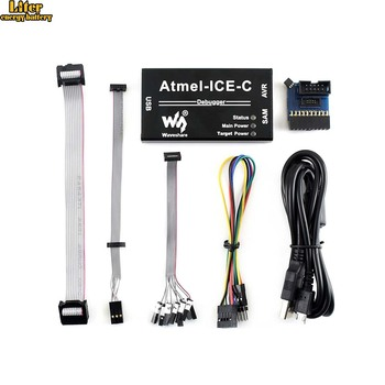 Original Atmel-ICE-C Powerful development tool for debugging and programming Atmel SAM and AVR microcontrollers, PCBA Inside