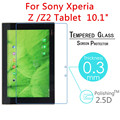 """5pcs Z Z2 9H Explosion-Proof Toughened Tempered Glass For Sony Xperia Z Z2 Tablet  10.1"""" Tablet PC Film Clear Screen Protector"""