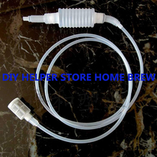 2018 Real Beer Home Brew Siphon Filter Syphon Pack Homebrew Wine Making Hand Knead Food Grade Brewing Silcone Tube 1.8 Meters