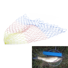 1 Pcs Nylon Fishing Nets Collapsible Tools Rhombus Mesh Hole Depth Folding Landing Net 35/40/45/50/60cm