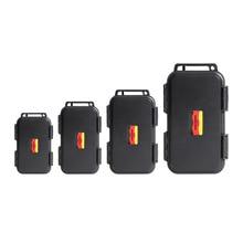 Outdoor Stoßfest Wasserdichte Werkzeug Box Luftdicht Fall EDC Reise Versiegelt Überleben Container Lagerung Carry Box Mit Schaum Futter