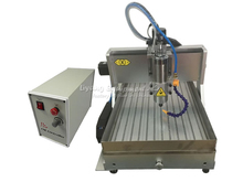 3axis cnc lathe machine 3040Z-VFD800W USB port and with water tank Free tax to Russia russia tax free mini cnc engraving drilling and milling machine 3axis with cheap price