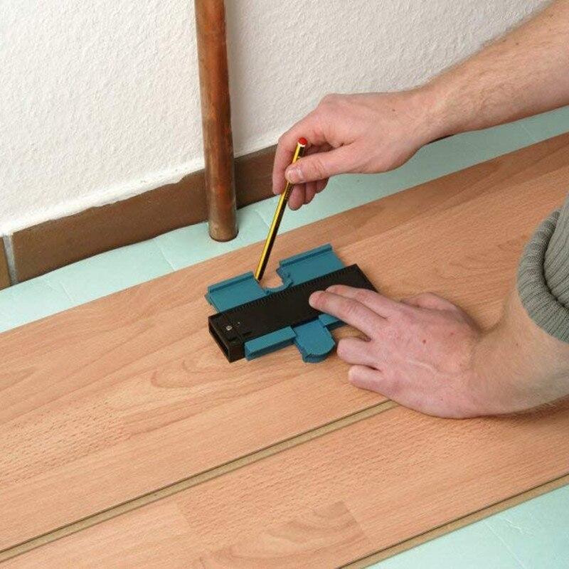 """Herramienta de marcado de madera de 5 """"de ancho estándar de duplicador de plástico con medidor de contorno"""