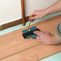 """Profil kopiarka miernik konturu plastikowy duplikator standardowy 5 """"szerokość narzędzie do znakowania drewna dachówka płytki laminowane narzędzia ogólne w Wskaźniki od Narzędzia na"""
