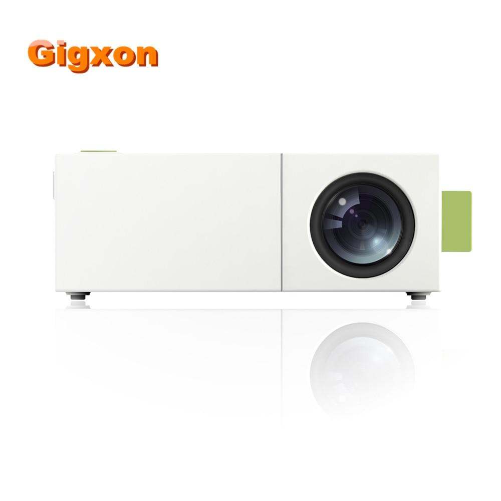 Yg310 Lcd Projector 600lm 320 X 240 1080p Mini Portable Hd: Gigxon G19+ YG310 Projector 400 600 Lumens Support Full HD