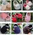 Baby crochet shoes boys Booties baby girls loafers infant handmade first walker shoes