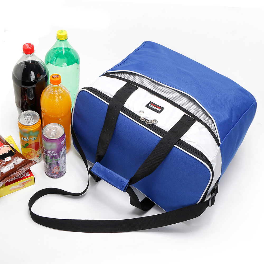 Image 4 - Lixada 34L Outdoor Insulated Bag Cooler Lunch Tote Thermal Bento Bag Camping BBQ Picnic Food Freshness Insulated Cooler Bag-in Picnic Bags from Sports & Entertainment