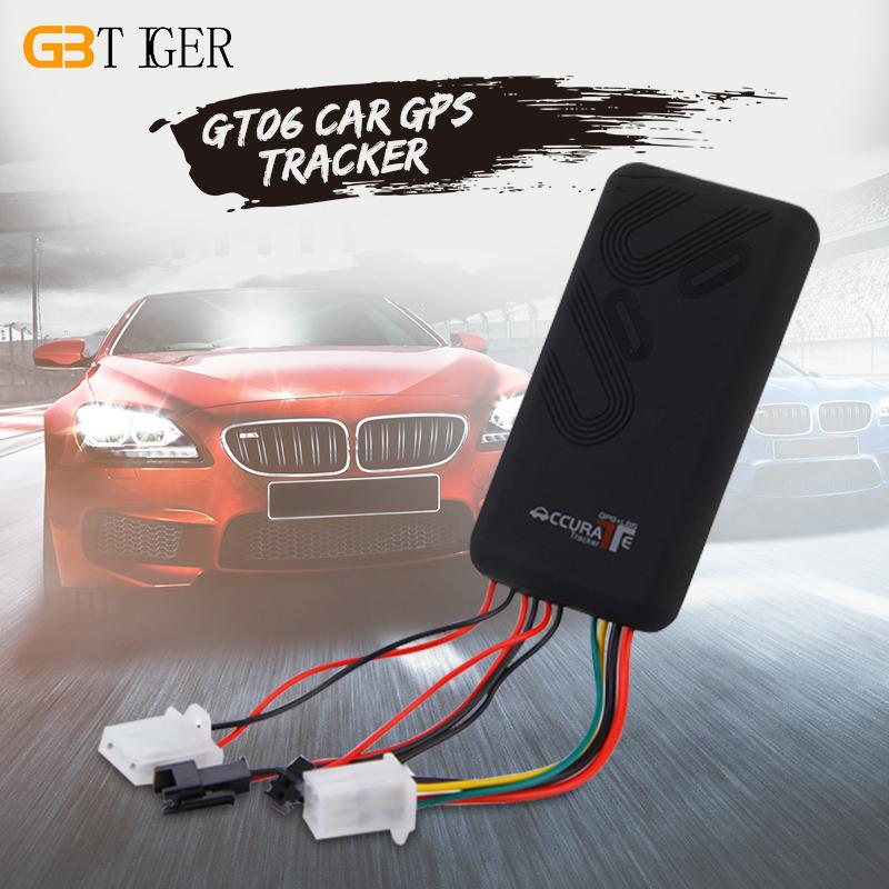 Prix pour GT06 Voiture GPS Tracker SMS GSM GPRS de Suivi des Véhicules Dispositif Moniteur Localisateur Télécommande pour Moto Scooter Sans Boîte