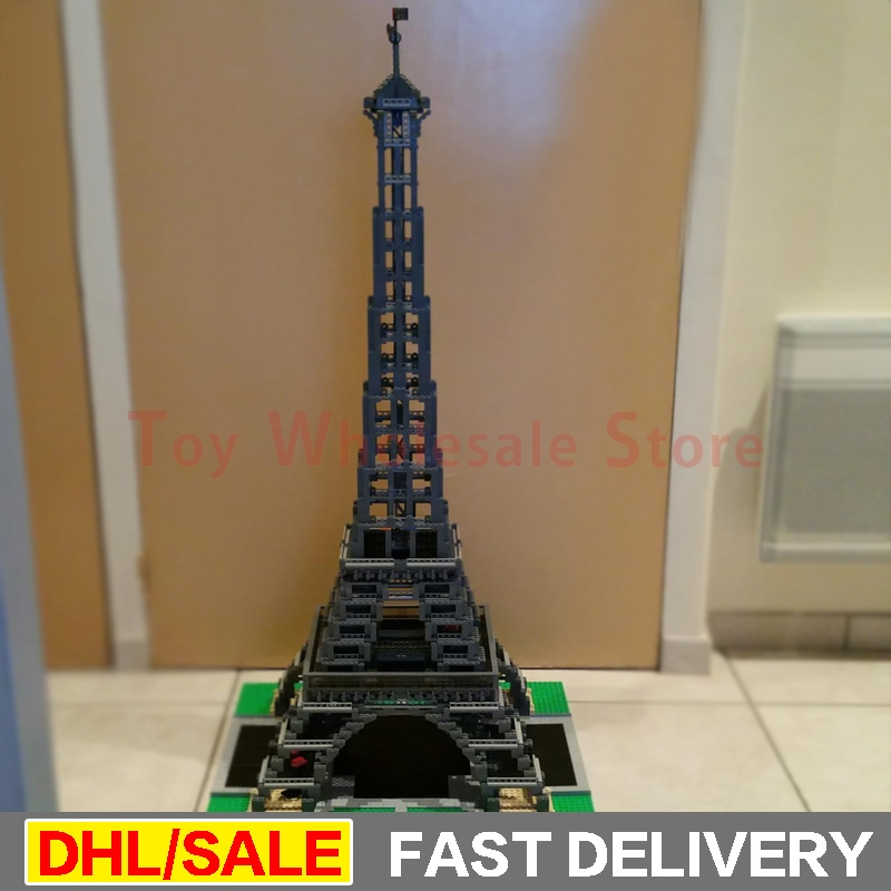 LEPIN 17002 3478pcs The Eiffel Tower Model Building Kits Set Brick lepins Toys Christmas Gift Clone 10181