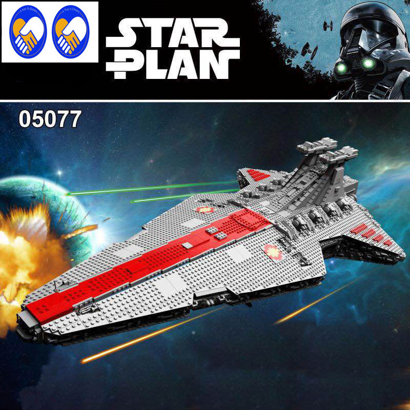 A Toy A Dream Lepin 05077 Genuine Star War Series The UCS Rupblic Star Destroyer Cruiser ST04 Set Building Blocks Bricks Toys genuine lepin 05077 series the ucs rupblic star destroyer wars cruiser st04 set building blocks bricks educational boy diy toy