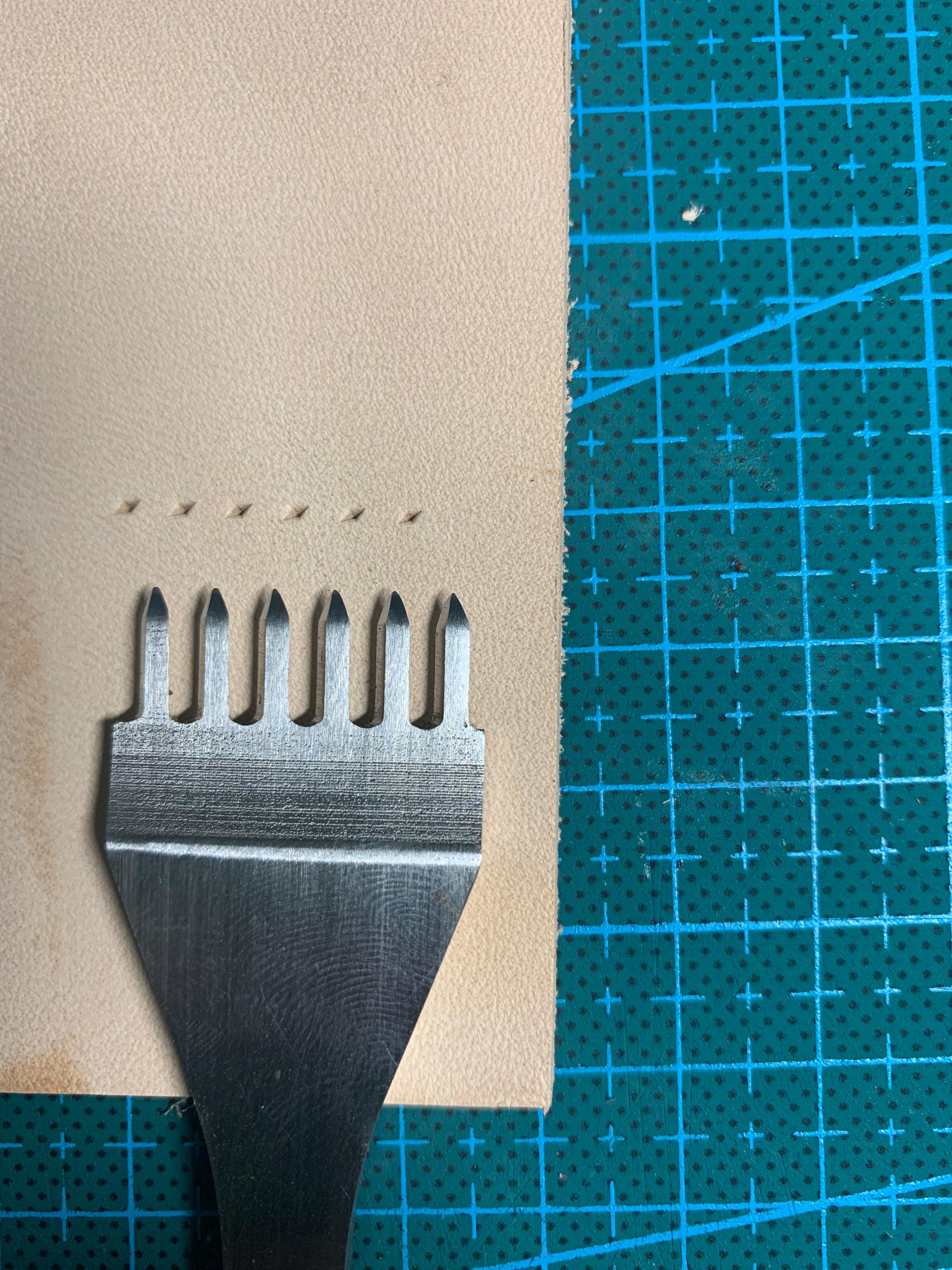 皮制品缝合方法(六)
