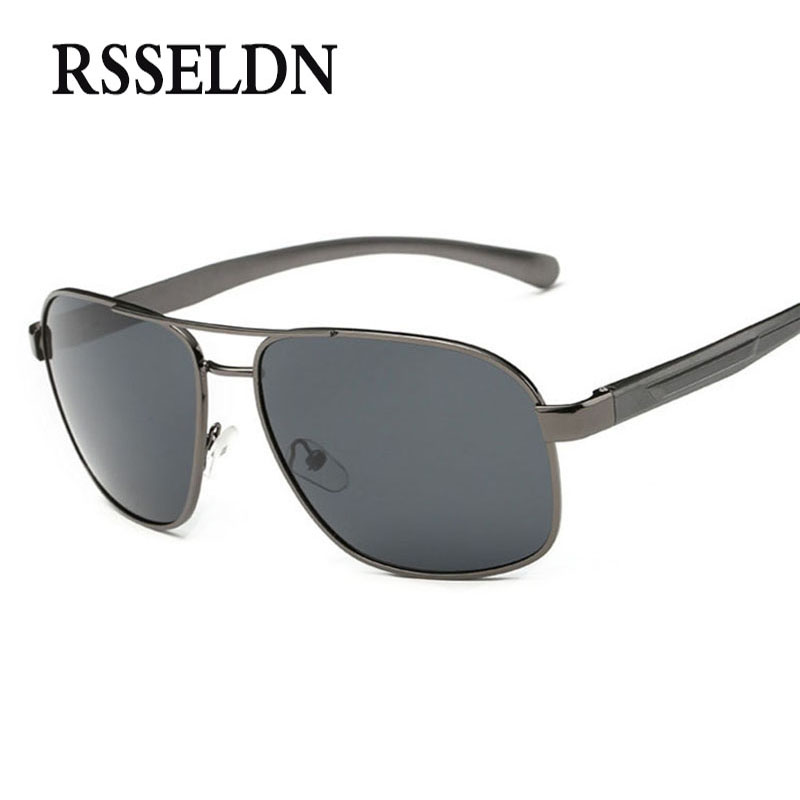 RSSELDN New Polaroid Sunglasses Men Polarized Driving Sun Glasses Eyewear Male Sunglasses lunettes de peche polarisantes UV400