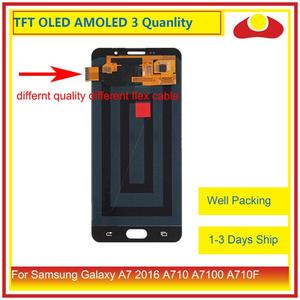 Image 2 - ORIGINAL For Samsung Galaxy A7 2016 A710 A7100 A710F LCD Display With Touch Screen Digitizer Panel Monitor Assembly Complete