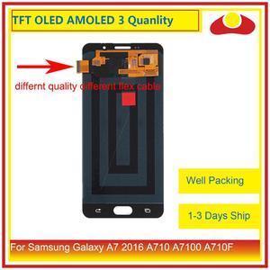Image 2 - ORIGINAL pour Samsung Galaxy A7 2016 A710 A7100 A710F écran LCD avec écran tactile numériseur panneau moniteur assemblage complet