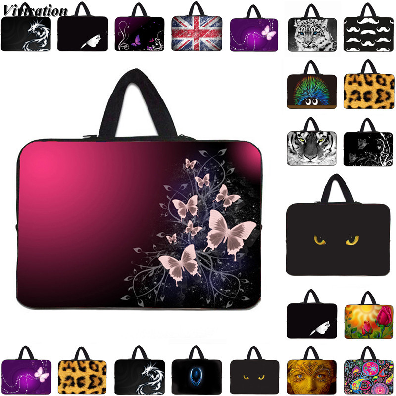 Soft Handle Computer Bag 15/13/12/17/10/14/7 Inch Laptop Case Viviration Sleeve Briefcase Notebook 15.6 Case For Asus Acer Dell