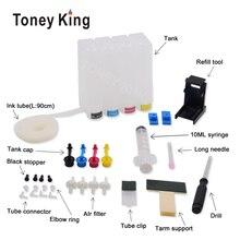 Toney King СНПЧ чернильный бак для 21 22 XL чернильный картридж для hp 21 22 для hp 21 21XL 22XL Deskjet F2180 F2280 F4180 F380 380 принтер