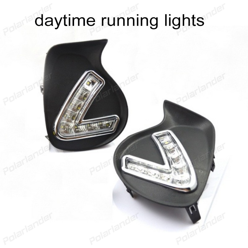 2017 NEW ARRIVAL AUTO LAMP Car styling For L/exus C/T200H 2011-2013   daytime running lights