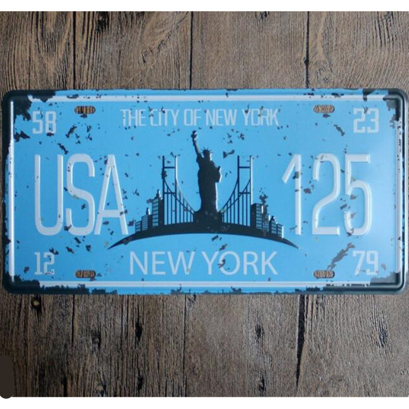 Home Decor Wholesalers Usa: Online Buy Wholesale Usa License Plate From China Usa