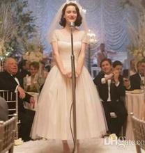 robe de mariee wedding dresses 2019 simple a-line vestido noiva short Sleeves Lace bridal gown dress