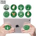 Sikai pop stands saco de aire del soporte del teléfono móvil titular de la navidad patrón tablet monut expansión grip soporte para iphone samsung soporte pop
