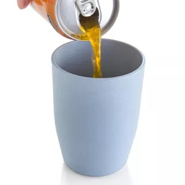 Superbe Plastic Toothbrush Tumbler Cup Portable Toothpaste Pencil Makeup Brush  Holder Drinking Water Milk Coffee Mug Cups