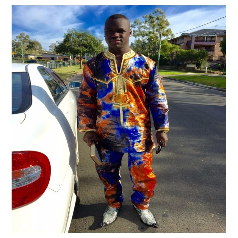 Buy dashiki african men 39 s clothing design for Mens dress shirt monogram location