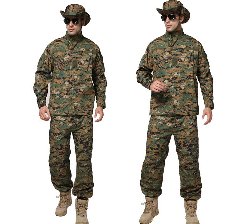 Camouflage suits, hunting camouflage clothing concealment, combat clothing windproof realtree camouflage suits wild hunting clothing oem vision