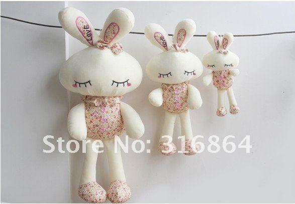 Оптом и в розницу плюшевые игрушки 55 см кролик, мягкие игрушки Рождественский подарок заводская поставка