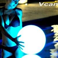 8 шт. Бесплатная доставка 20 см Перезаряжаемые Цвета изменить Беспроводной светодиодные лампы настроение для праздника с семьей