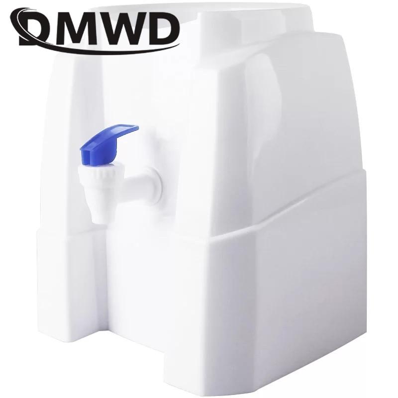 DMWD Desktop Water Dispenser Gallon Drinking Bottle Office Home Fountains Water Holder Press Manual Barrel Watering Pump Device