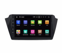10.1 Quad core Android 9.0 Car GPS radio Navigation for Skoda Fabia 2016 with 4G/wifi DVR OBD mirror link 1080P