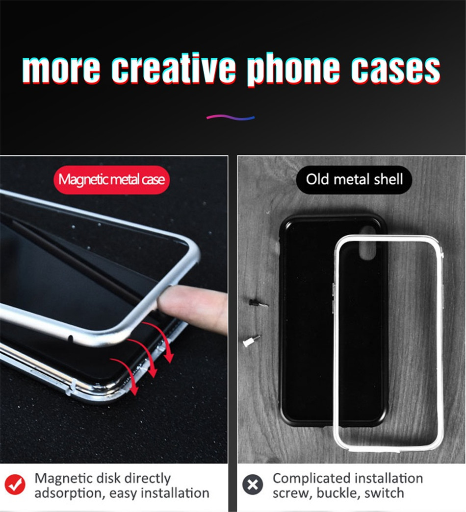 iphone x xs max Magnetic case 13