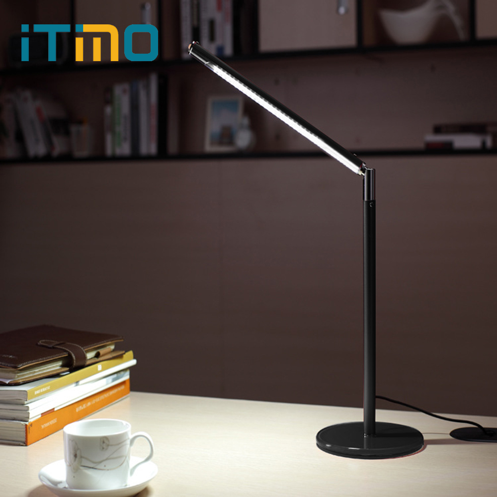iTimo USB LED Book Light 24 LEDs Table Desk Reading Lamp for Laptop Notebook PC Computer Super Bright Night Light Convenience