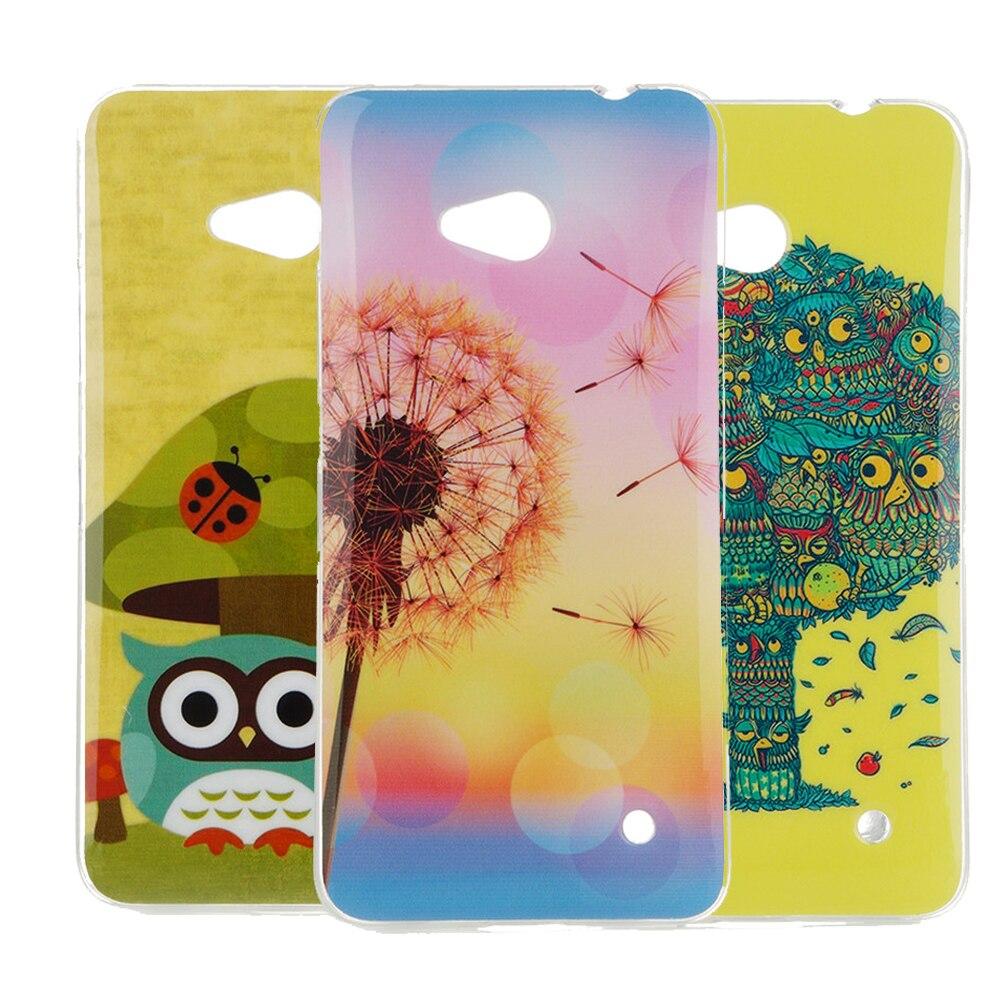 soft ultra thin TPU shockproof printing fashion Shell For Microsoft Lumia 640 Lte Dual Sim Cell Phone Case For Nokia 640 N640