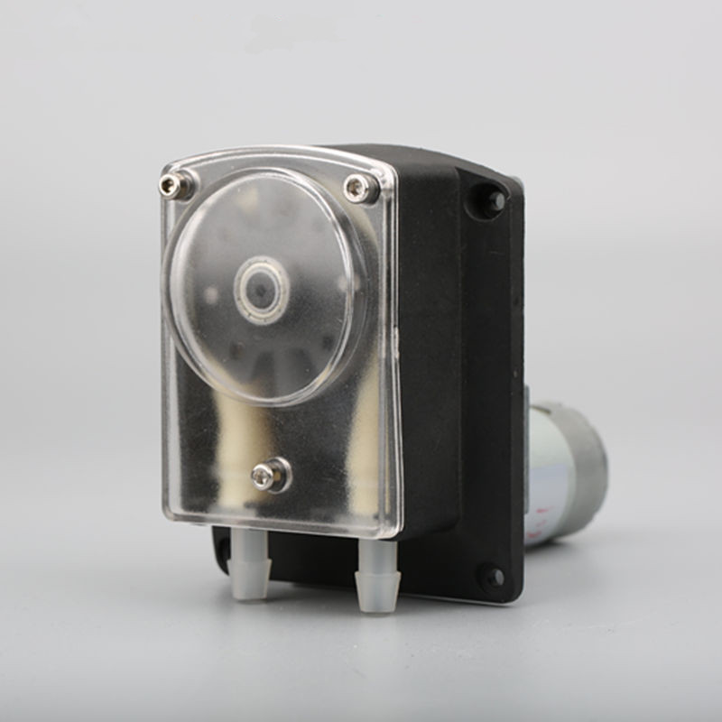 DC12V 24V peristaltic pump dosing pump micro sanitary peristaltic pump max flow rate 3000ml min by