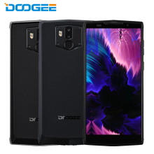 DOOGEE BL9000 Mobile Phone 5.99inch 6GB RAM 64GB ROM MTK6763 Octa Core Android8.1 Battery 9000mAh NFC Wireless Charge Smartphone