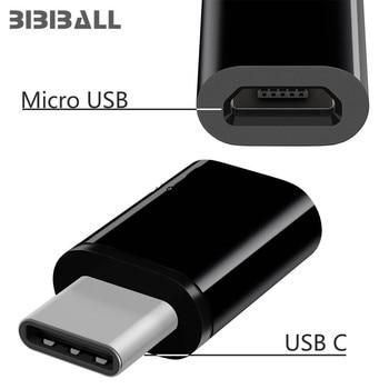 Convertidor de USB-C tipo C a Micro USB para Huawei p20 lite pro P9 P10 mate 10 Sony Xperia XA1 XZ2 XZ1 Compact L1 L2, adaptador de cargador