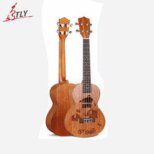 Eastun 24″ 26″ Spruce Concert Tenor Ukelele High Quality Hawaii Mini Acoustic Guitar 4 Strings Ukulele Uke
