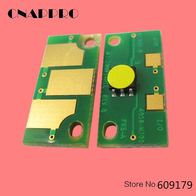 4 pcs 7400 7440 Chip De Toner para konica Minolta Magicolor 7450 Magicolor7400 Magicolor7440 Magicolor7450 Cartucho de Reset