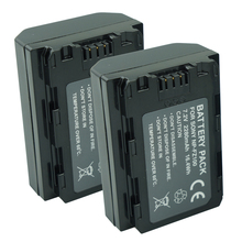 купить 2pcs NP-FZ100 NP FZ100 Battery NPFZ100 bateria For Sony Alpha 9 A9 9R A9R 9S A9S A7RIII A7R3 7RM3 A7m3 BC-QZ1 Digital Camera дешево