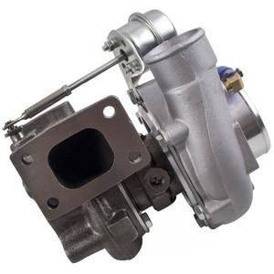 Image 3 - GT2871 T25 4 BOLZEN FÜR NISSAN SR/CA S13/S14 240SX 5 BOLZEN FLANSCH TURBO LADEGERÄT gt28 Com A/R .60 turbine A/R .64 T25 T28 öl wasser