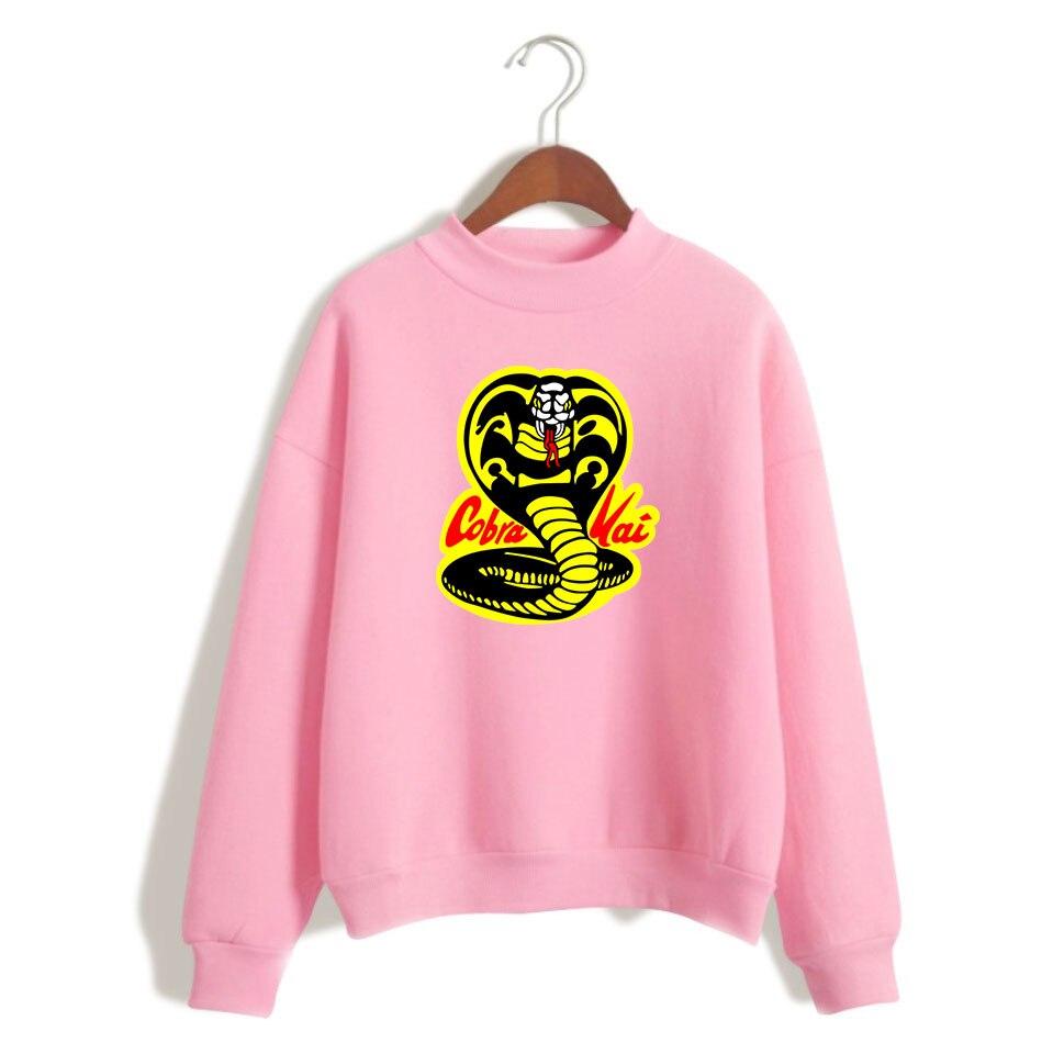BTS Cobra Kai Для женщин/Для мужчин свободные водолазки Для женщин кофты аниме печати Antumn Весна Кофты популярные одежда с длинными рукавами