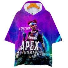 Hot 3D Apex Legends Hoodies Fashion Pullover T-shirt Cool Oversize 2019 New Unisex Summer/Autumn T-shirts