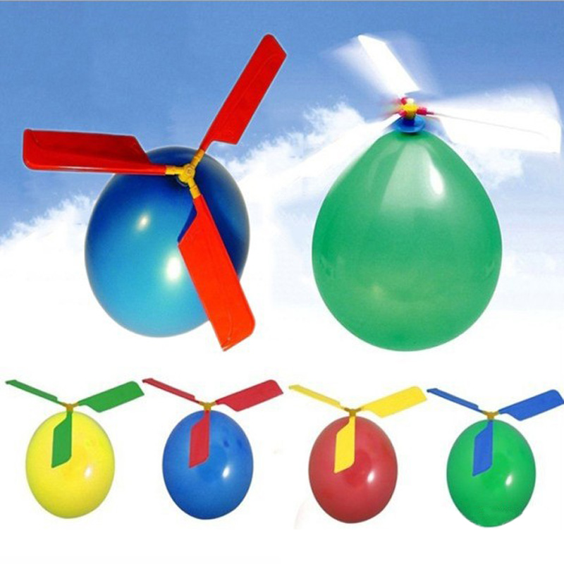The Cheapest Price 10pcs/lot New Creative Childrens Toys Balloon Fly Balloon Toys Beneficial To Essential Medulla Toy Balls