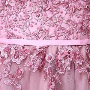 Image 4 - Dongcmy 2020 vestidos curtos de baile, mulheres mini roupa de festa de renda elegante