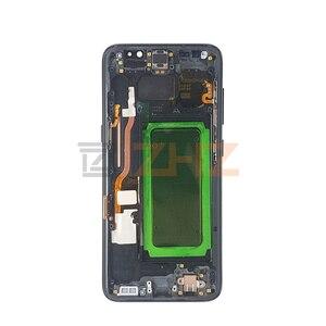 Image 5 - لسامسونج غالاكسي S8 lcd G950 S8 زائد G955 شاشة تعمل باللمس محول الأرقام الجمعية مع الإطار s8 عرض استبدال إصلاح أجزاء